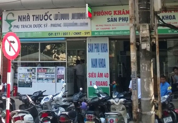 Một số cơ sở thăm khám thai ở Hà Nội.
