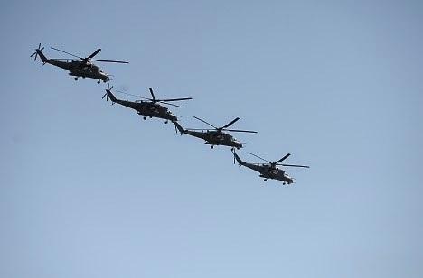 Trực thăng Nga tiêu diệt mục tiêu chớp nhoáng - 1