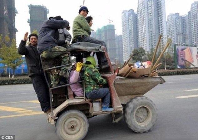 Những kiểu vận chuyển kỳ quặc ở Trung Quốc - 12