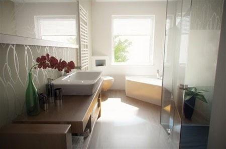 Những thiết kế đẹp cho phòng tắm - 12