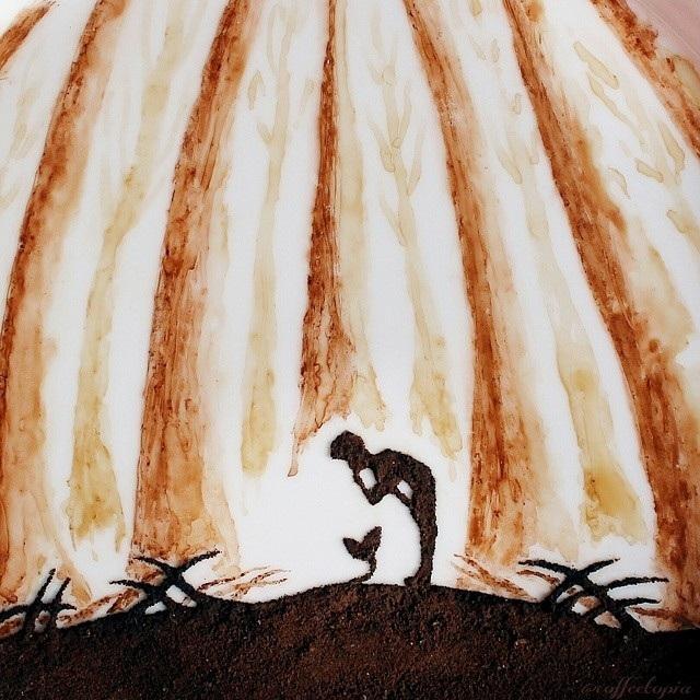 """Tài vẽ tranh tuyệt đỉnh của """"nghệ sĩ cà phê"""" - 3"""