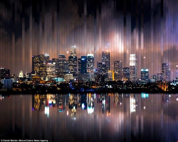 Ngắm trọn một ngày ở các thành phố lớn trong một bức ảnh - 13