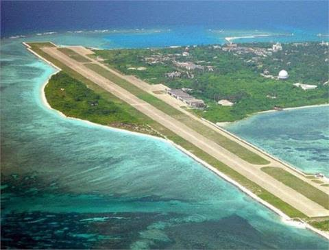 Sân bay phi pháp của Trung Quốc tại đảo Phú Lâm, thuộc quần đảo Hoàng Sa (Ảnh: News)