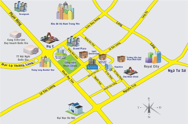 Nhiều dự án chung cư đều vẽ ra quy hoạch giao thông để làm đẹp