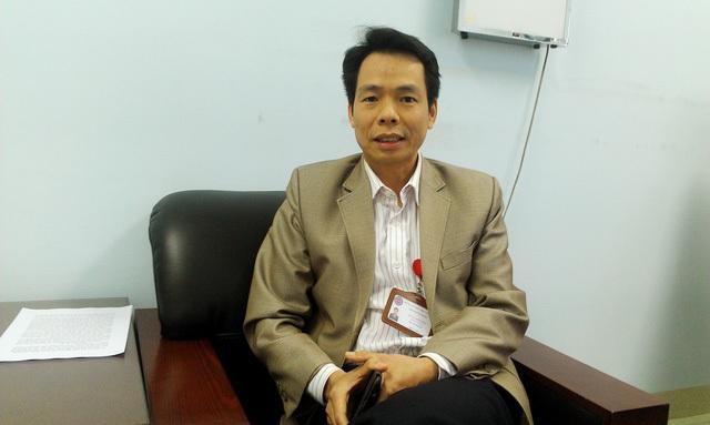 TS Tống Minh Sơn – Phó Viện trưởng Viện Đào tạo Răng Hàm Mặt (Đại học Y Hà Nội). Ảnh Cao Tuân
