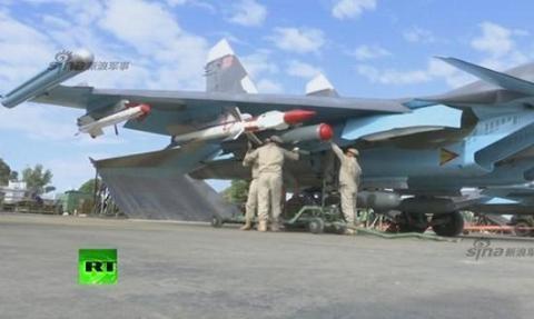 Nga giăng màn thép bảo vệ máy bay không kích ở Syria - 2