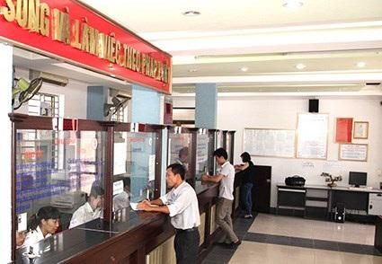 Mô hình Một cửa liên thông ở thành phố Ninh Bình. (Ảnh minh họa: website Ninh Bình)