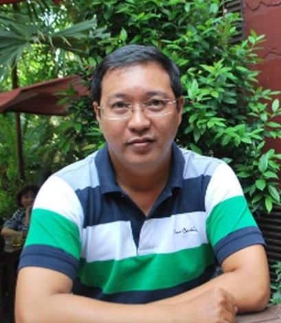 Nghệ sĩ Hà Linh ở tuổi ngoài 40.