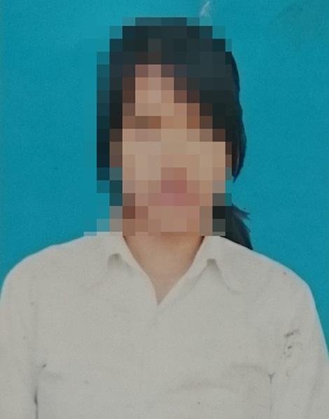 Cháu Trần Thị L. đã được các trinh sát Đội 4 PC52 tìm được sau hai tháng mất tích.