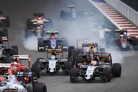F1 2015 chặng Nga: Lại một chiến thắng dễ dàng của Hamilton - 13