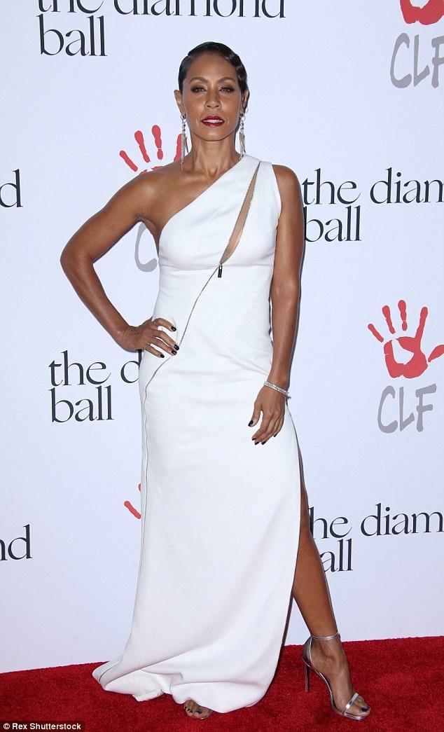 Nữ diễn viên Jada Pinkett-Smith - bà xã của Will Smith