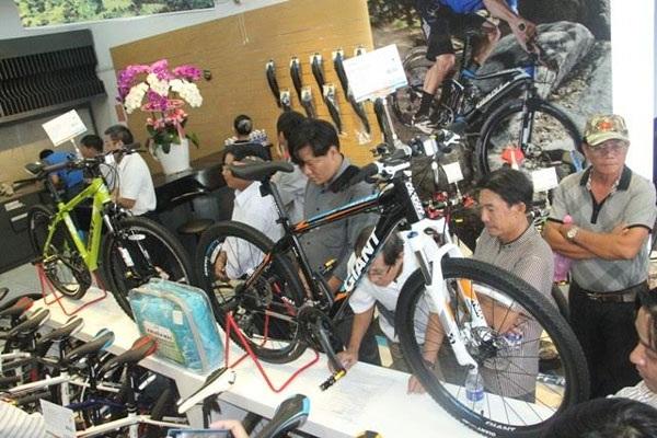 Xe đạp thể thao đang chiếm lĩnh thị phần