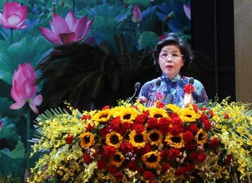 Bà Mai Kiều Liên, Tổng giám đốc Công ty Cổ phần Sữa Việt Nam.
