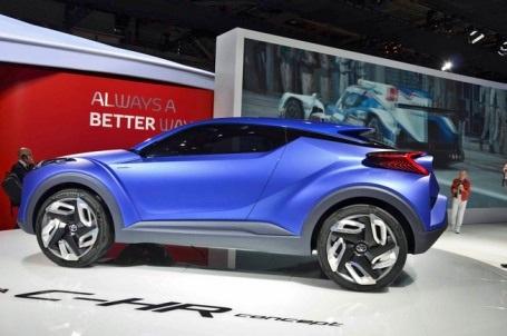 Toyota C-HR - Đối thủ tương lai của Nissan Qashqai - 7