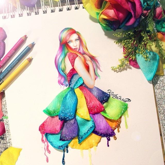 """Sống động những bức tranh """"vẽ"""" từ salad và mỳ Ý - 4"""