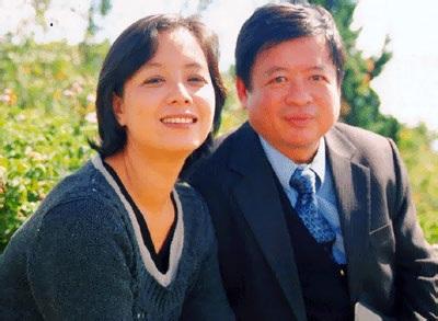 Diễn viên Chiều Xuân và nhạc sĩ Đỗ Hồng Quân