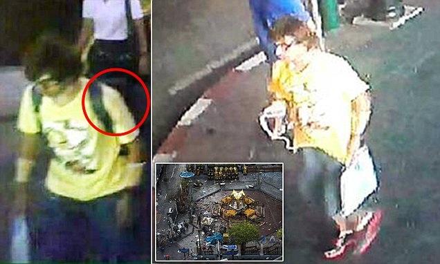 Thái Lan công bố ảnh nghi phạm, treo thưởng 1 triệu baht để bắt kẻ đánh bom - 2