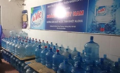 Phát hiện cả một công ty sản xuất nước khoáng Lavie giả ở Hà Nội - 5