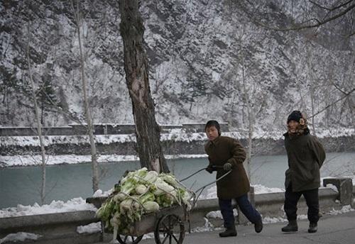 Mùa đông nhuộm trắng xứ sở Triều Tiên bí ẩn - 5