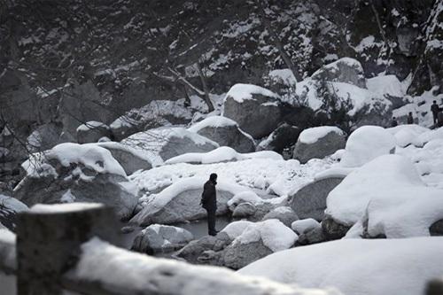 Mùa đông nhuộm trắng xứ sở Triều Tiên bí ẩn - 6