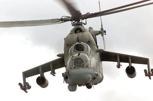 Mi-24 là mẫu trực thăng tấn công đáng sợ bậc nhất thế giới (Ảnh: Ria)
