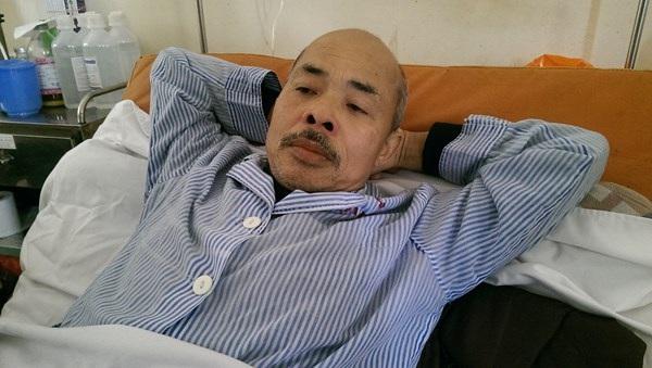 Diễn viên Hán Văn Tình chật vật chống chọi với bệnh ung thư