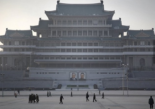 Mùa đông nhuộm trắng xứ sở Triều Tiên bí ẩn - 7