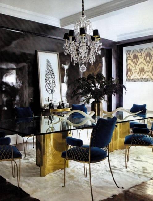 Thiết kế nội thất ấm cúng với thảm lông - 8