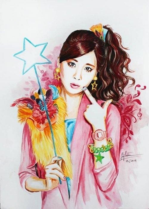 Ca sĩ Hàn Quốc Seo Hyun