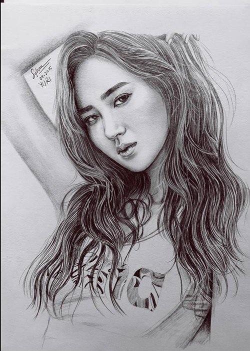 Ngôi sao Kpop Yuri, thành viên nhóm nhạc SNSD