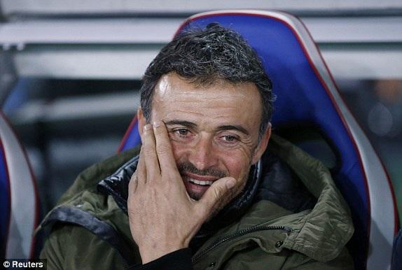 HLV Enrique tự tin về cơ hội chiến thắng của Barcelona