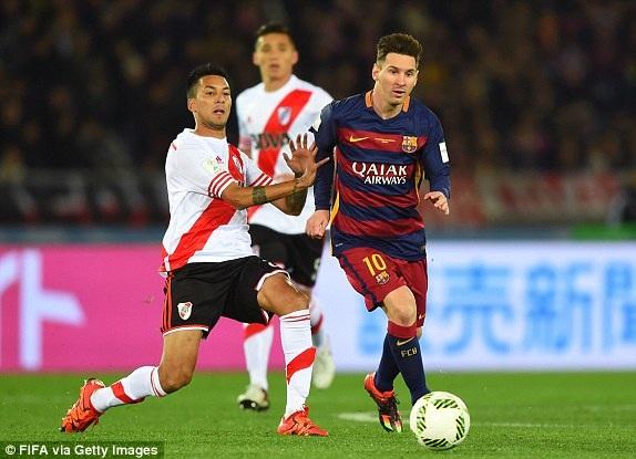 Messi là cầu thủ chơi nổi bật nhất ở những phút đầu tiên