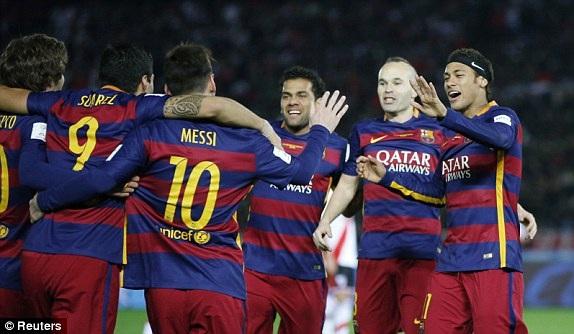 Barcelona xứng đáng với chức vô địch FIFA Club World Cup 2015