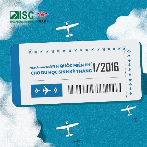 Vé máy bay đi Anh Quốc miễn phí cho du học sinh kỳ tháng 1/2016 - 1