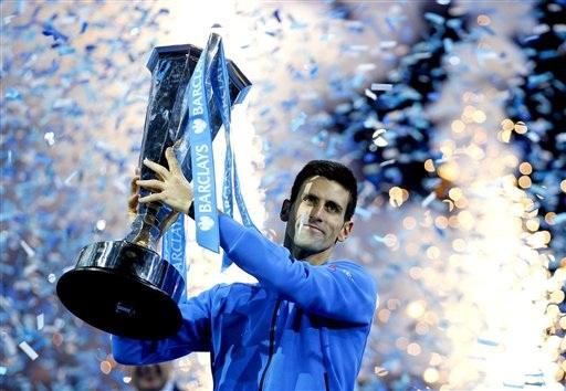 Nole đã lần thứ 4 liên tiếp vô địch ATP World Tour Finals và tổng cộng anh đã năm lần vô địch giải đấu này