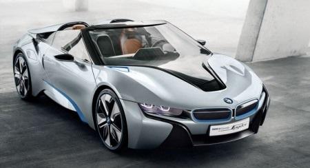 BMW i8 sắp thêm bản mui trần - 1