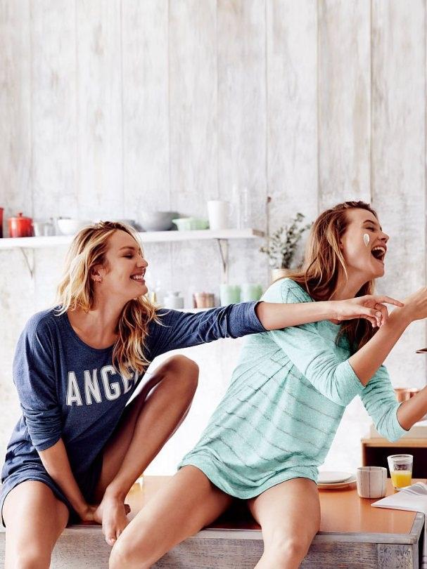 Candice Swanepoel và Behati Prinsloo khoe vẻ đẹp rạng rỡ trong ảnh quảng cáo mới của Victoria's Secret