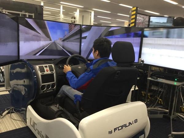 Đội có cơ hội tiếp xúc, học hỏi với những công nghệ ứng dụng trong giao thông tại Nhật.