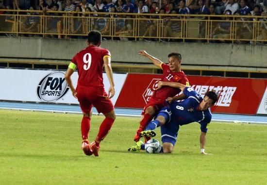 Trận đấu giữa Việt Nam và Đài Loan đã diễn ra đầy căng thẳng