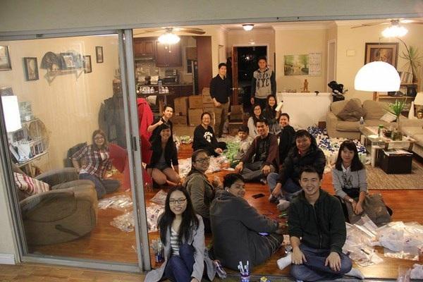 DHS Việt tại California mang Giáng sinh ấm cho người vô gia cư - 5