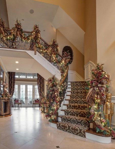 Ngôi nhà đẹp lung linh nhờ đèn trang trí mùa Giáng sinh - 12