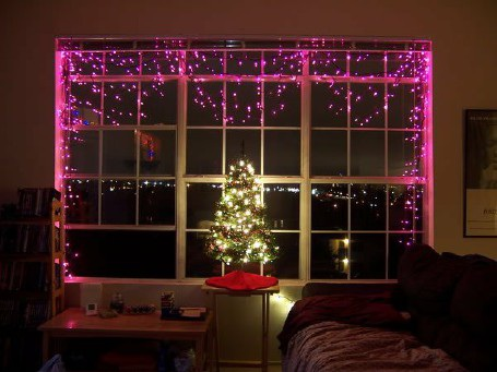 Ngôi nhà đẹp lung linh nhờ đèn trang trí mùa Giáng sinh - 5