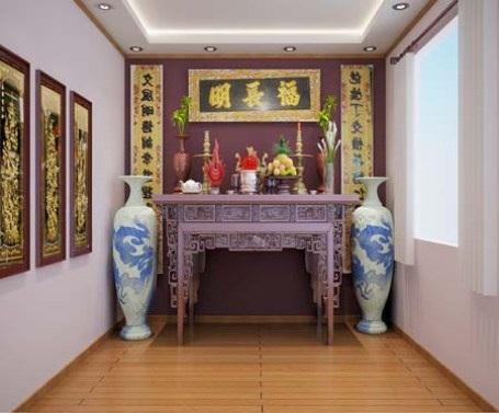 Những nguyên tắc căn bản trong không gian thờ cúng của người Việt - 1