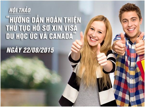 Hướng dẫn hoàn thiện hồ sơ Visa du học Úc, Canada cho DHS Việt và người thân - 5