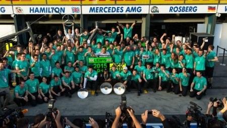 F1 2015: Mercedes-AMG lần thứ hai liên tiếp lên ngôi - 1