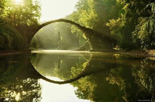 """Ngắm cây cầu như """"tuyệt tác nghệ thuật giữa thiên nhiên"""" - 1"""