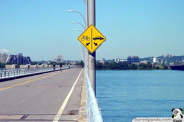 Những biển báo giao thông khiến bạn không thể nhịn cười - 1