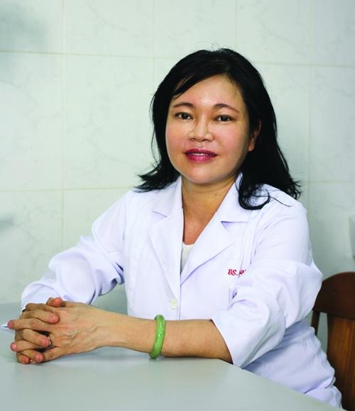 Tiến sĩ, Bác sĩ Trần Ngọc Ánh - Giảng viên Đại học Y khoa Phạm Ngọc Thạch.