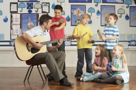 Âm nhạc có thể giúp giảm trầm cảm ở trẻ. Nguồn: Ảnh từ www.smusic.vn