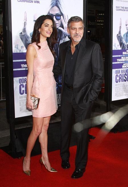 Hai vợ chồng George Clooney